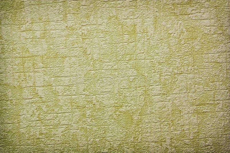 Papel pintado verde de la vendimia imagen de archivo libre de regalías
