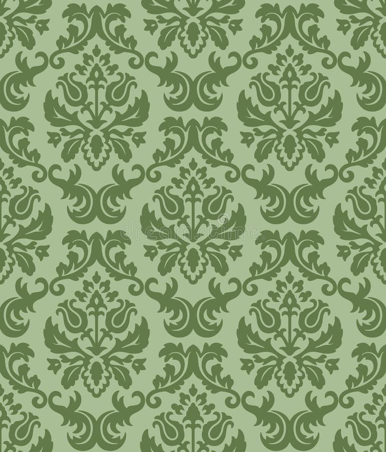 Download Papel pintado verde-verde stock de ilustración. Ilustración de grabado - 7281893