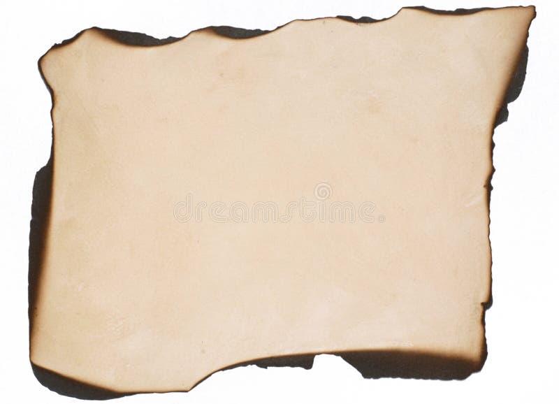 Papel queimado foto de stock royalty free