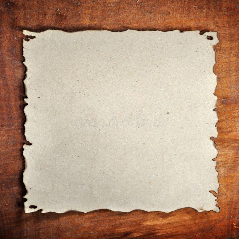Papel quemado fotos de archivo libres de regalías