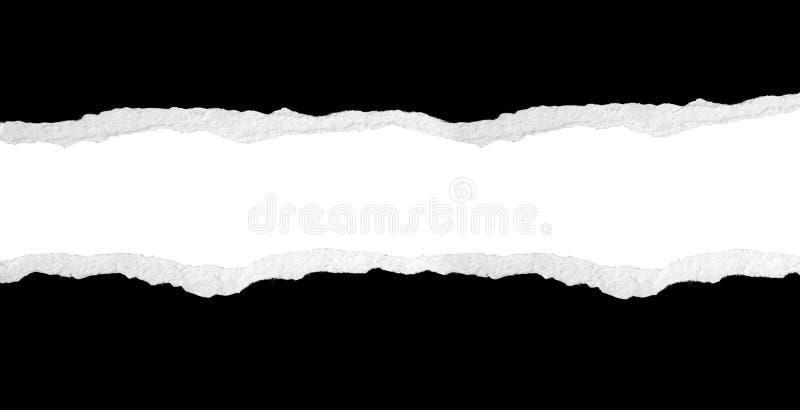 Papel rasgado fotografía de archivo libre de regalías