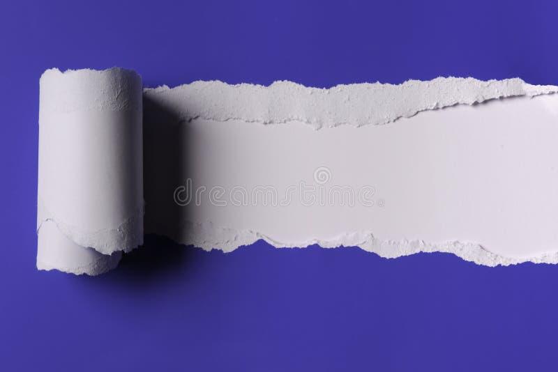 Papel rasgado foto de stock