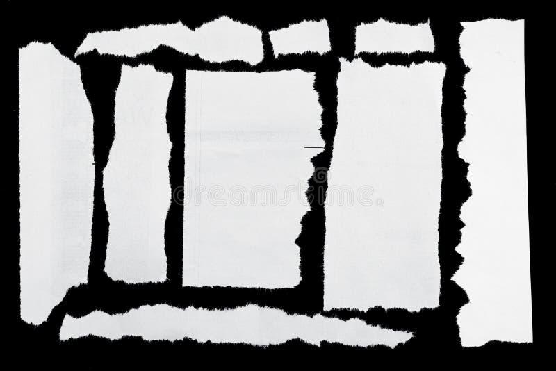 Papel rasgado imagen de archivo