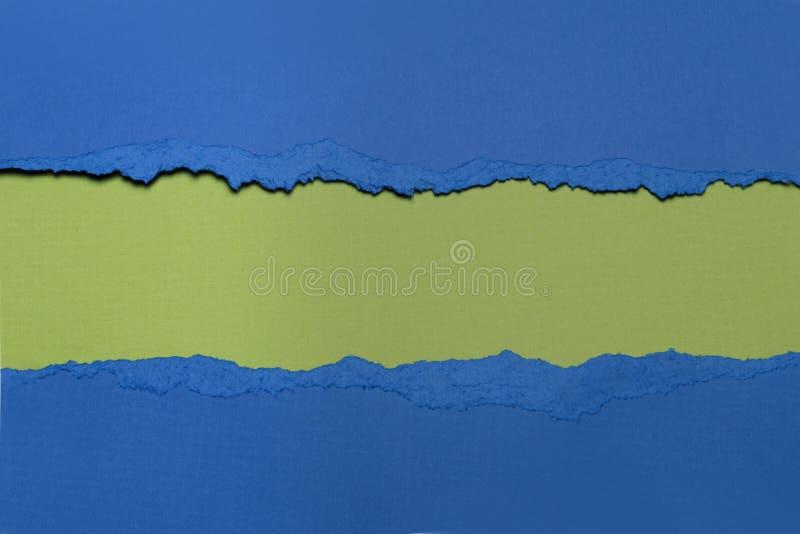 Papel rasgado com espaço para o texto imagens de stock
