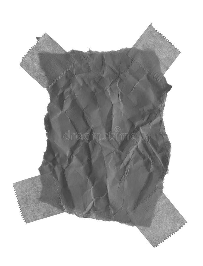 Papel rasgado del rasgón fotografía de archivo libre de regalías