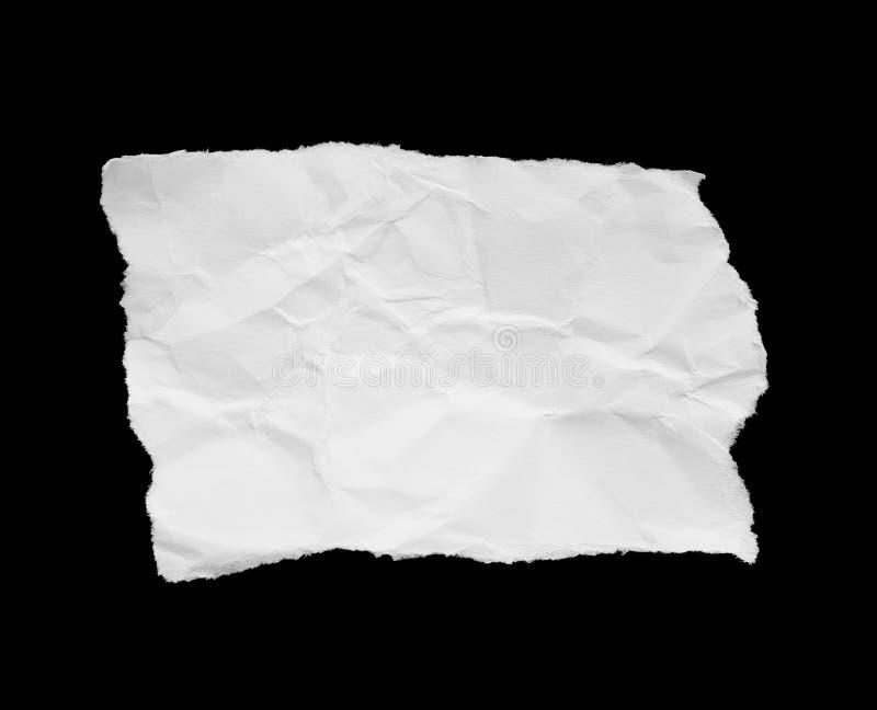 Papel rasgado del rasgón foto de archivo libre de regalías