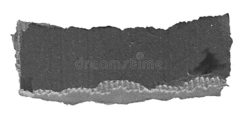 Papel rasgado del rasgón imágenes de archivo libres de regalías
