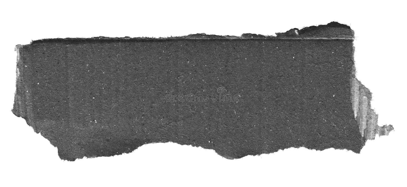 Papel rasgado del rasgón imagen de archivo