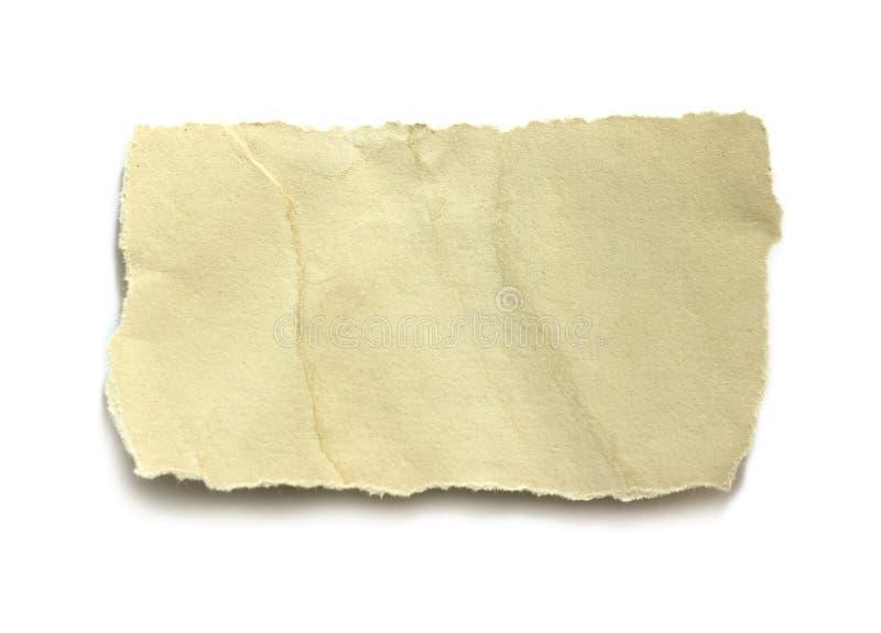 Papel rasgado do rasgo fotos de stock