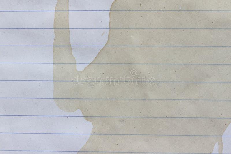 Papel rasgado do rasgo foto de stock