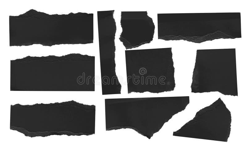 Papel rasgado do rasgo fotografia de stock