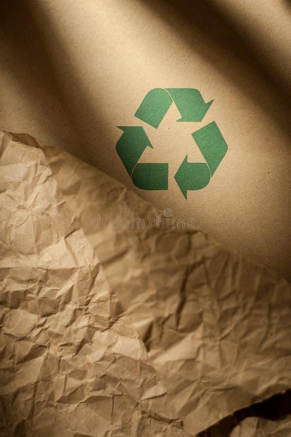 Papel reciclado foto de archivo libre de regalías
