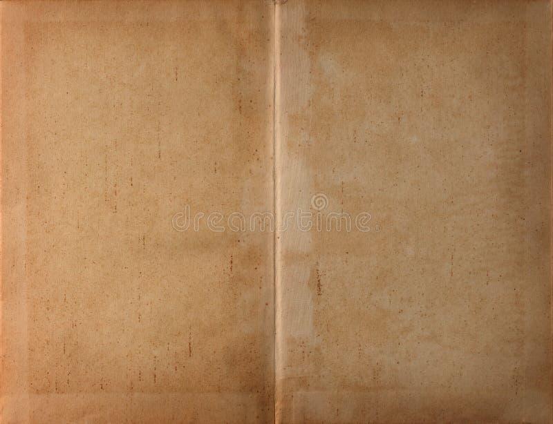 Papel revelado de la obscuridad del libro fotografía de archivo