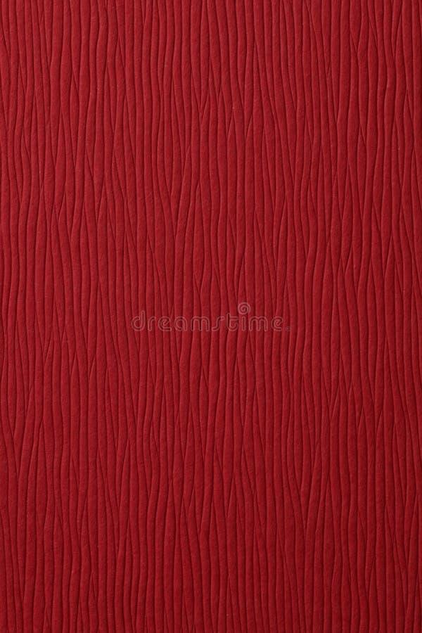 Papel rojo con textura imagen de archivo libre de regalías