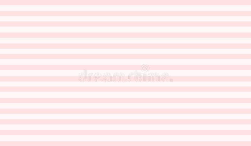Papel rosado blanco con la línea ejemplo moderno del extracto del diseño del fondo del modelo de la raya del papel pintado libre illustration