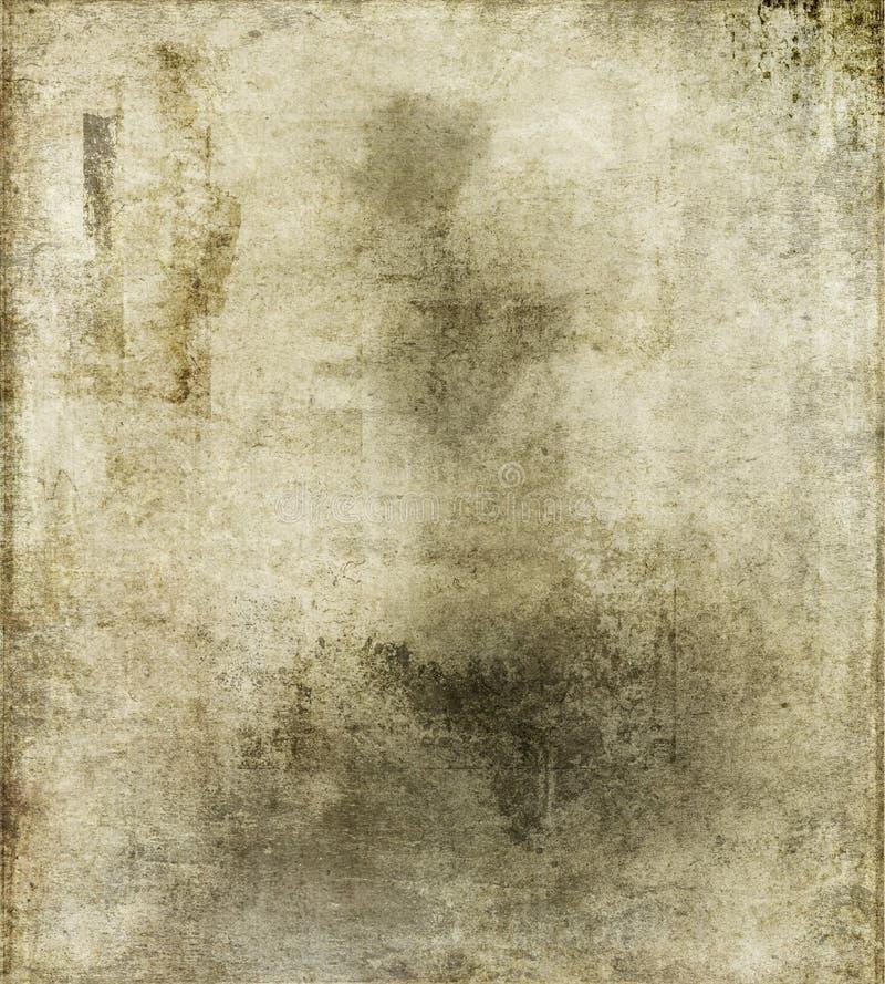 Papel sucio de la vendimia imagen de archivo