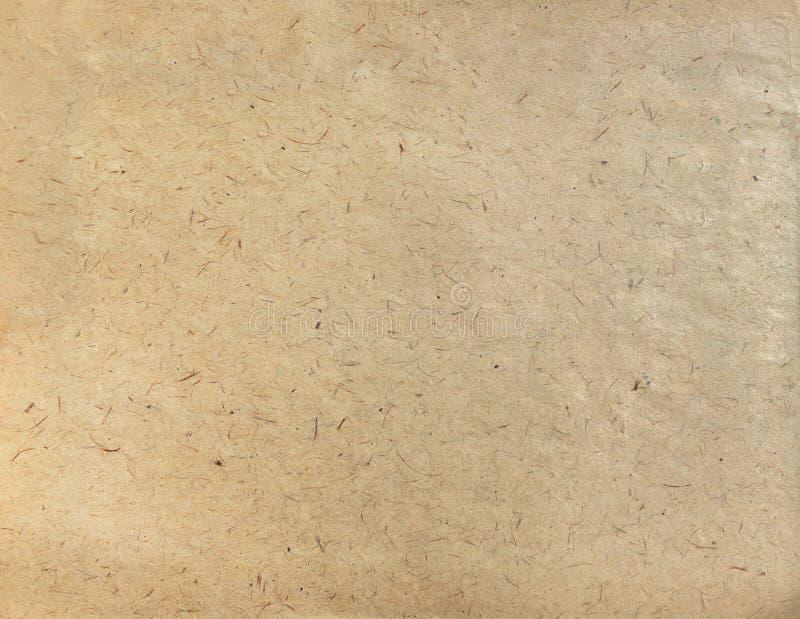 Papel Textured do ofício, textura do fundo fotografia de stock royalty free