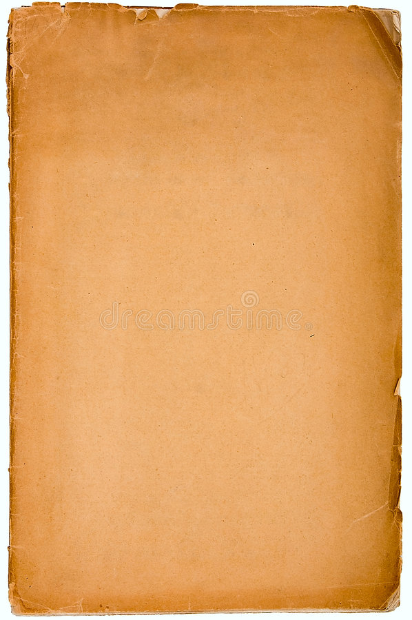 Papel textured velho com borda decrépita. foto de stock royalty free