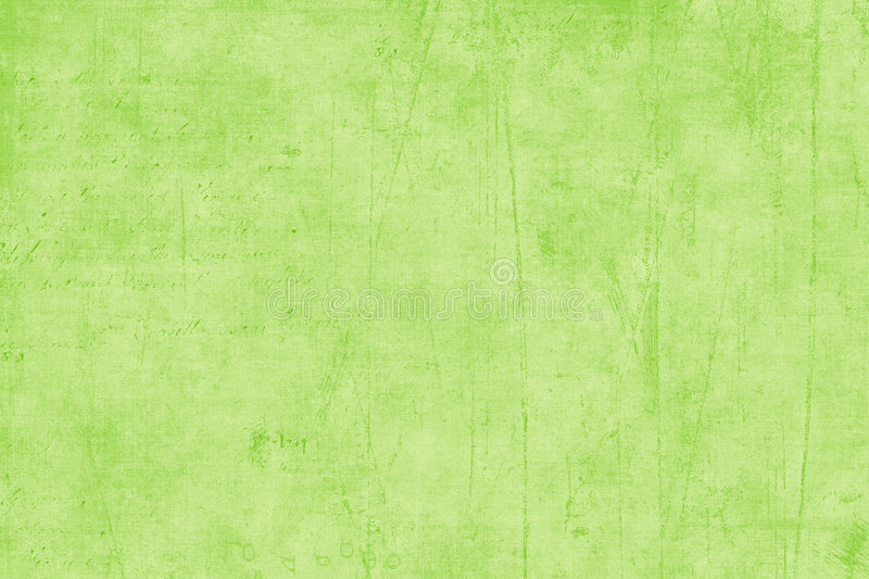 Papel Textured verde do Scrapbook fotos de stock