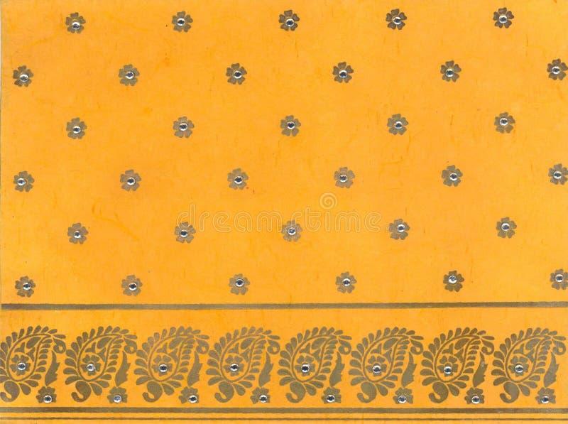 papel tradicional indiano imagem de stock royalty free