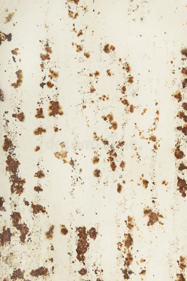 Papel velho com oxidação ilustração stock
