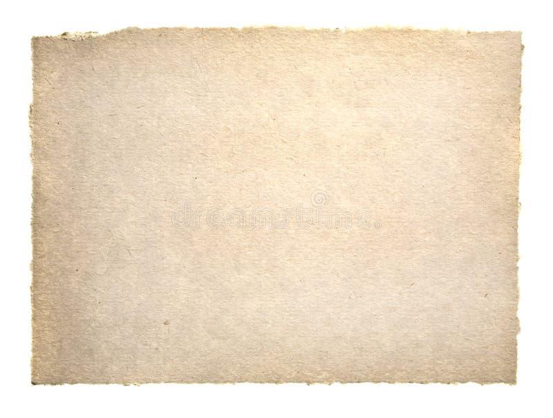Papel velho de Grunge fotografia de stock