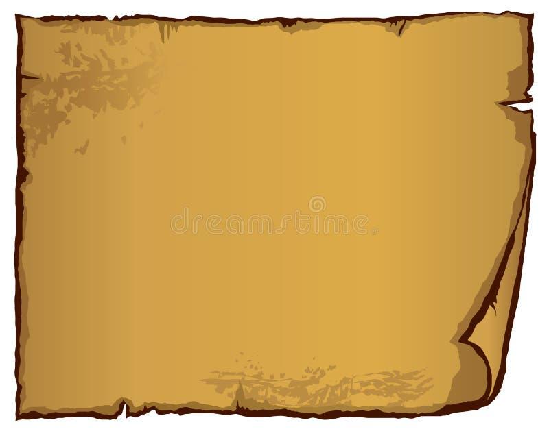 Papel velho (ilustração) ilustração royalty free