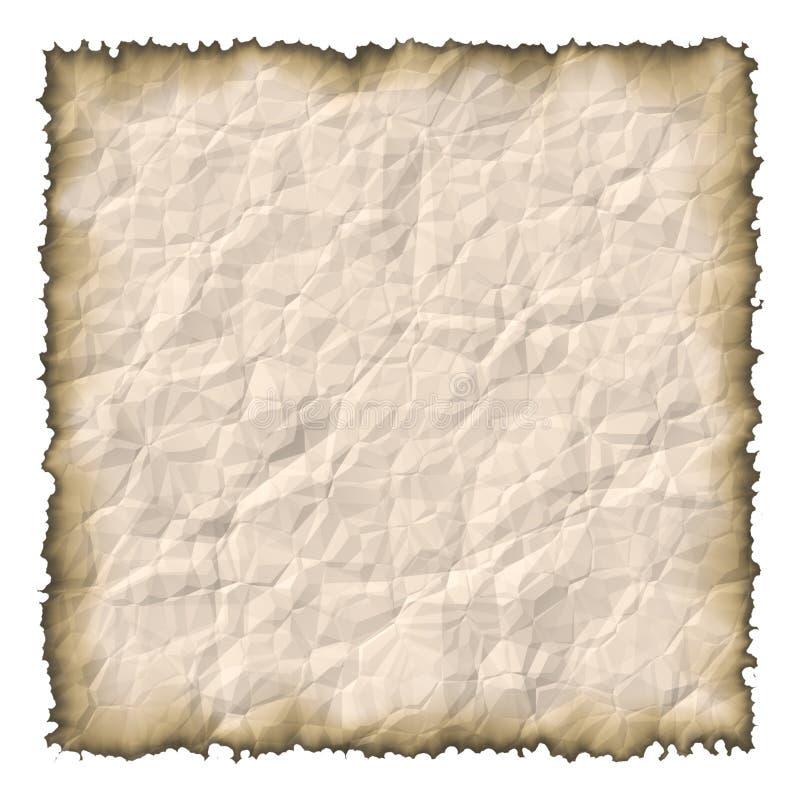 Download Papel velho queimado ilustração stock. Ilustração de envelhecido - 58308
