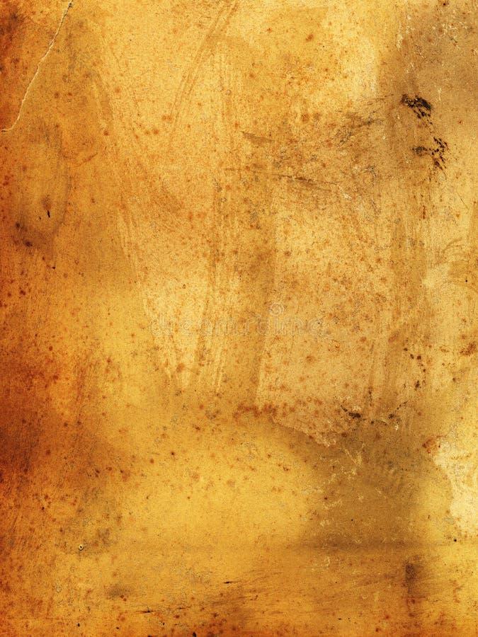 Papel velho sujo - 19o século - manchado e que deriorating imagem de stock royalty free