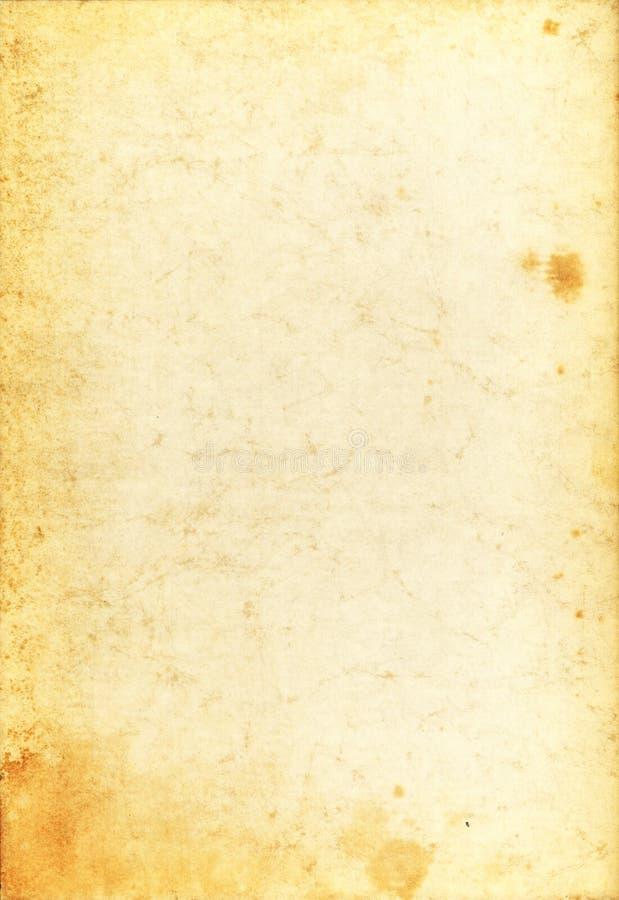 Papel viejo foto de archivo libre de regalías