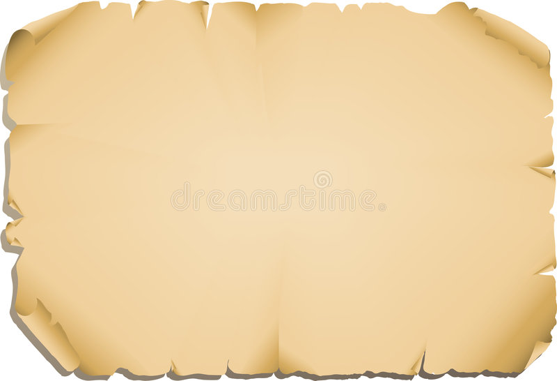 Papel viejo stock de ilustración