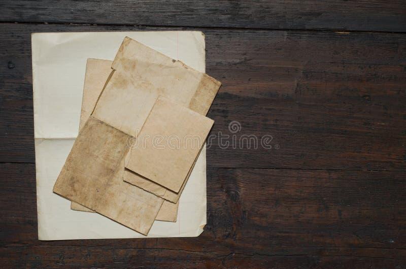 Papel viejo fotografía de archivo libre de regalías