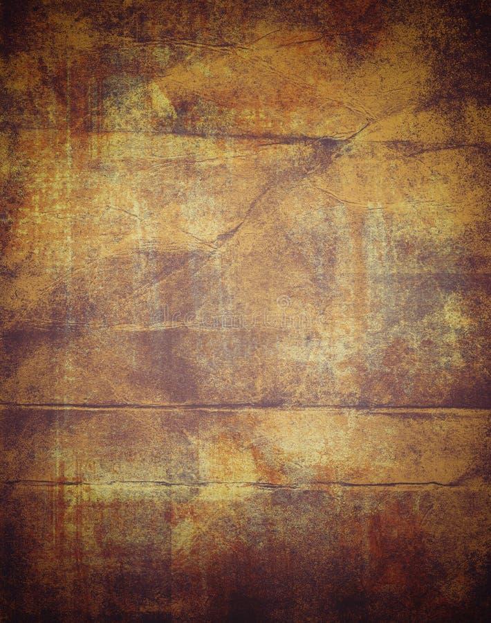 Papel viejo del fondo altamente detallado del grunge marco-con el espacio para el texto su diseño ilustración del vector