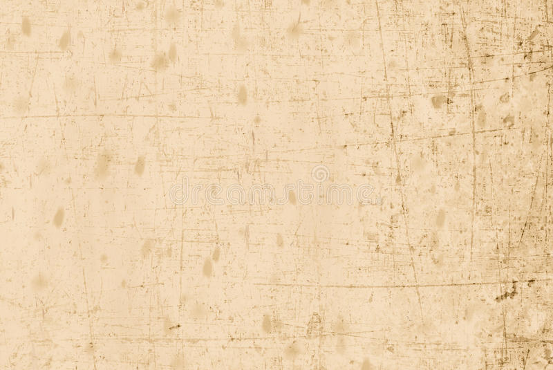 Papel viejo y rasguñado beige imágenes de archivo libres de regalías