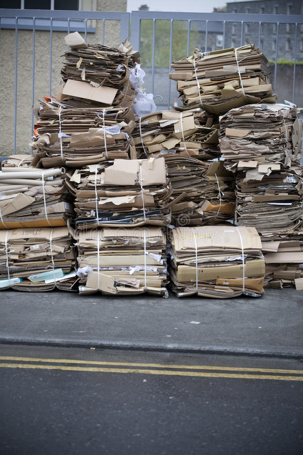 Papel Waste fotografia de stock royalty free