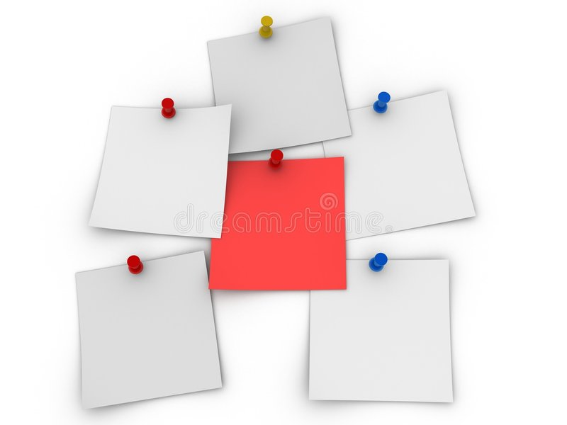 Papeles stock de ilustración