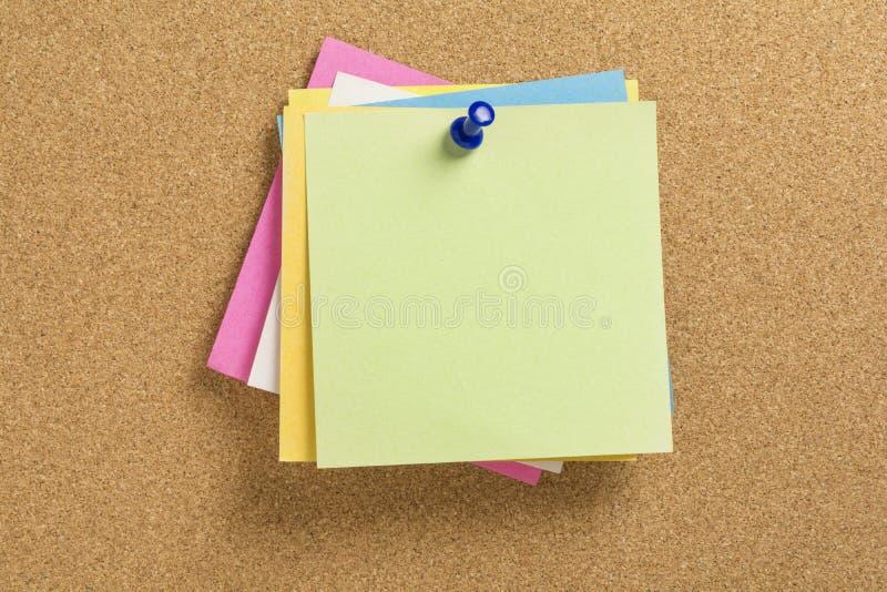 Papeles de carta coloreados imagen de archivo libre de regalías