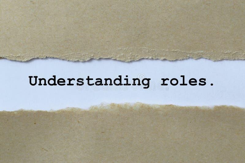 Papeles de comprensión imagenes de archivo