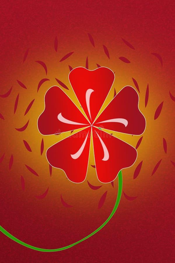 Papeles pintados de la flor imagenes de archivo