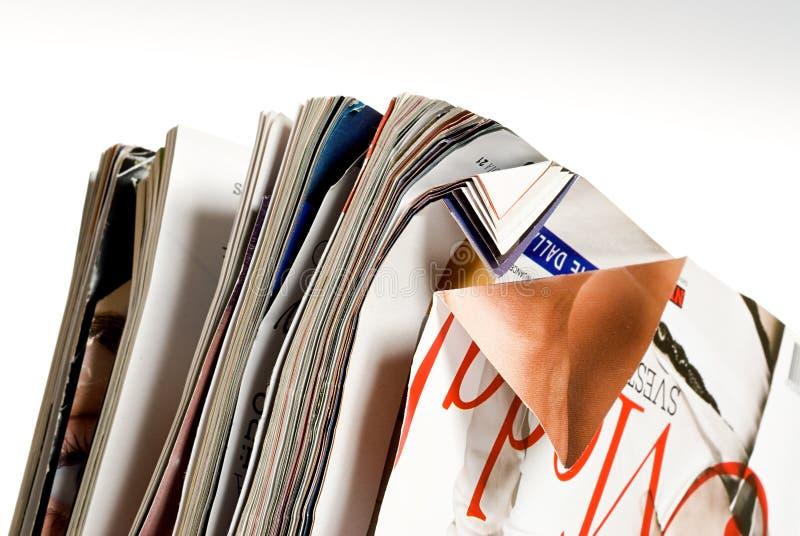 paper återanvändning royaltyfri bild