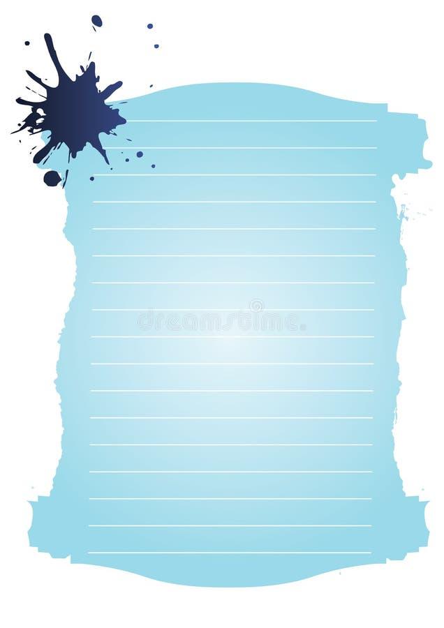 Download Paper stock vector. Illustration of lines, retro, spot - 7495062