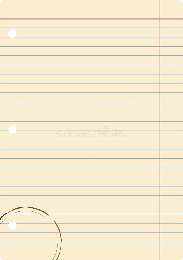 Download Paper stock vector. Image of background, document, margin - 8183149