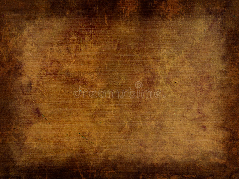 Paper. Background - a sheet of the old, soiled paper stock illustration
