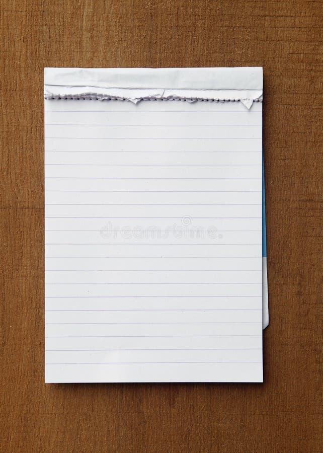 Paper anmärkning för reva arkivbilder