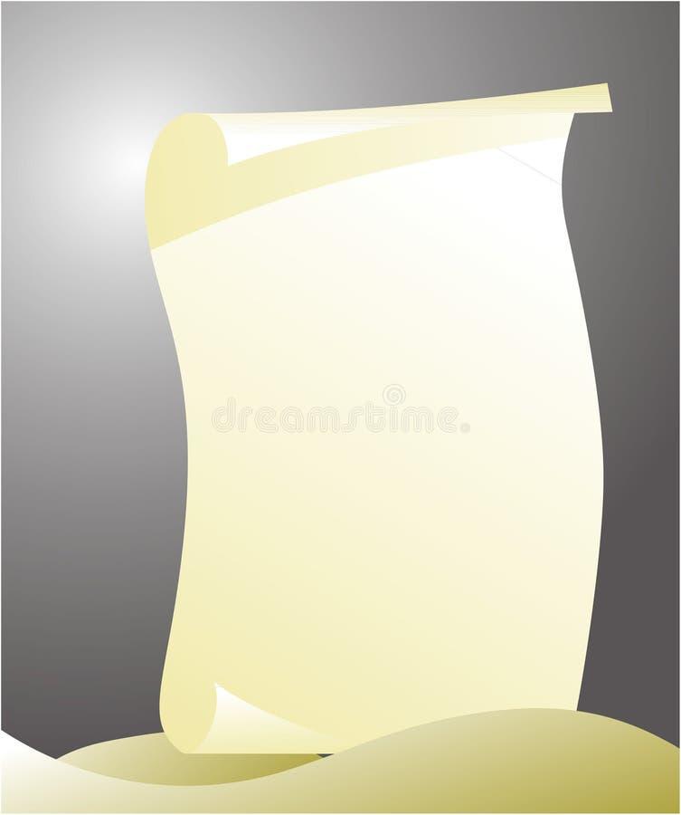 paper arket vektor illustrationer