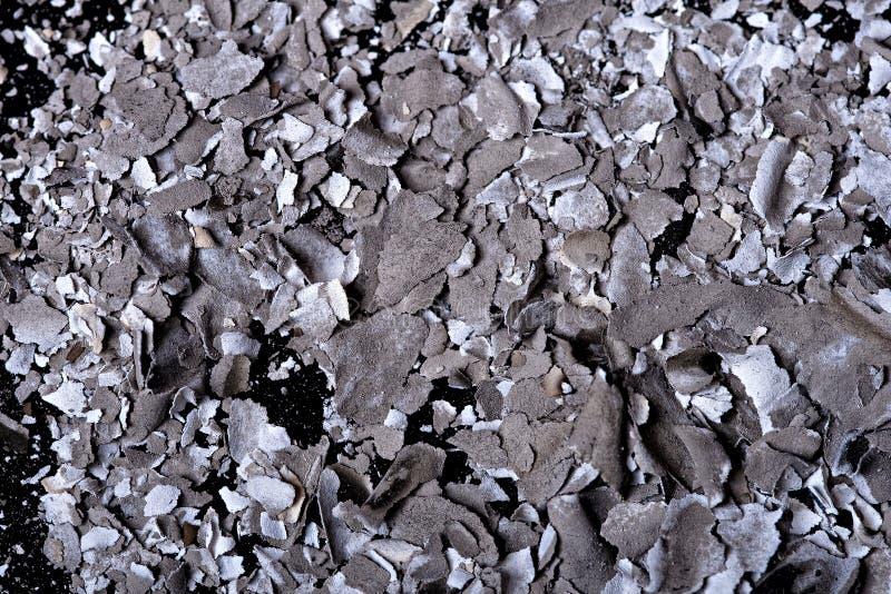 Paper ash royalty free stock photos