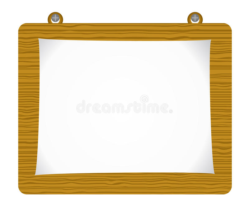Download Paper Attach To Old Wooden Background Royalty Free Stock Photography - Image: 11544837
