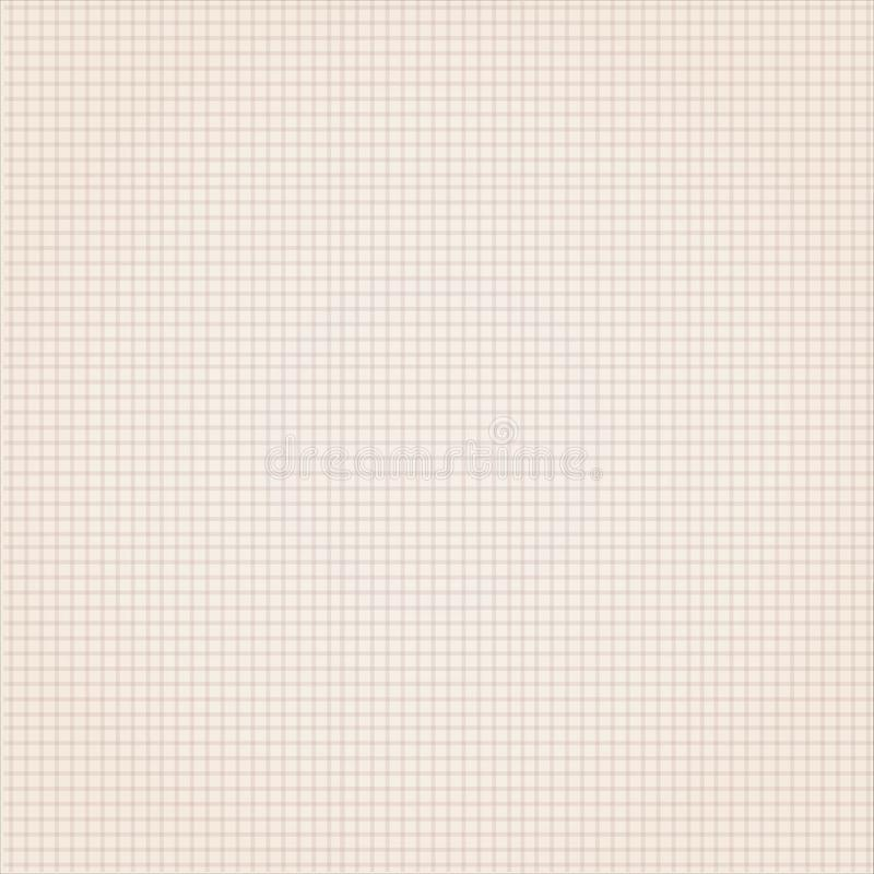 Paper background canvas texture delicate grid pattern. Texture with blurred lines or subtle grid of color cremates stock photography