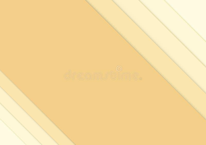 Paper background overlap dimension. text and message design modern website. vector illustration royalty free illustration