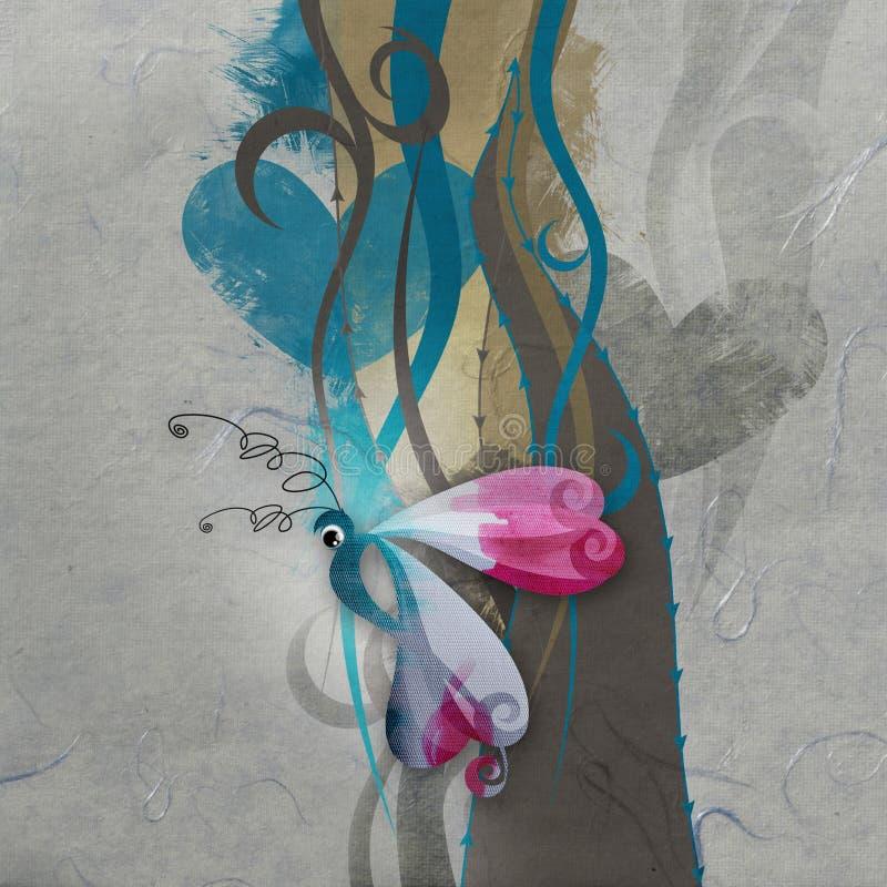 Paper Background royalty free illustration